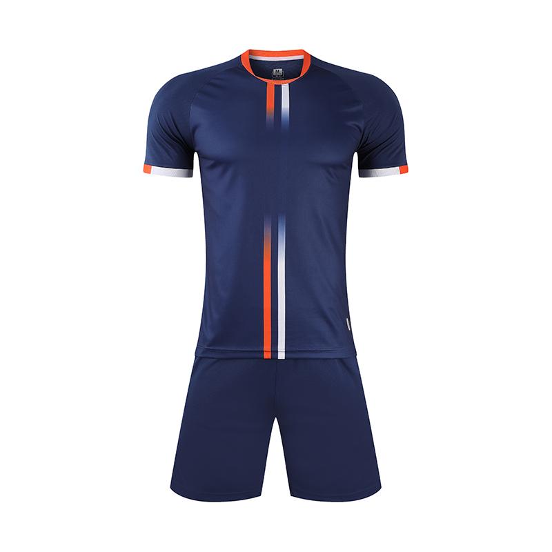 动力之窗体育2021新款球衣成人儿童足球服小学生足球运动套装定制队服比赛服DIY订制印字