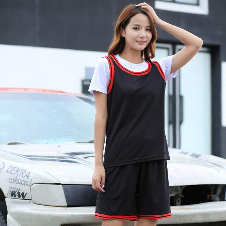 女式短袖篮球服套装女款篮球运动球衣团队单位DIY定制队服比赛服