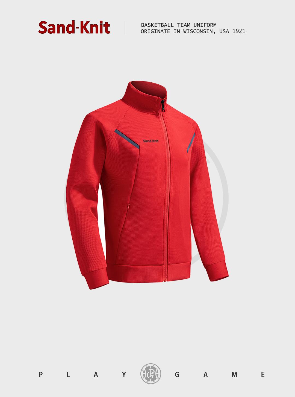 动力之窗运动装备森耐特个性时尚潮流男装卫衣针织运动外套拉链户外跑步运动长袖上衣夹克
