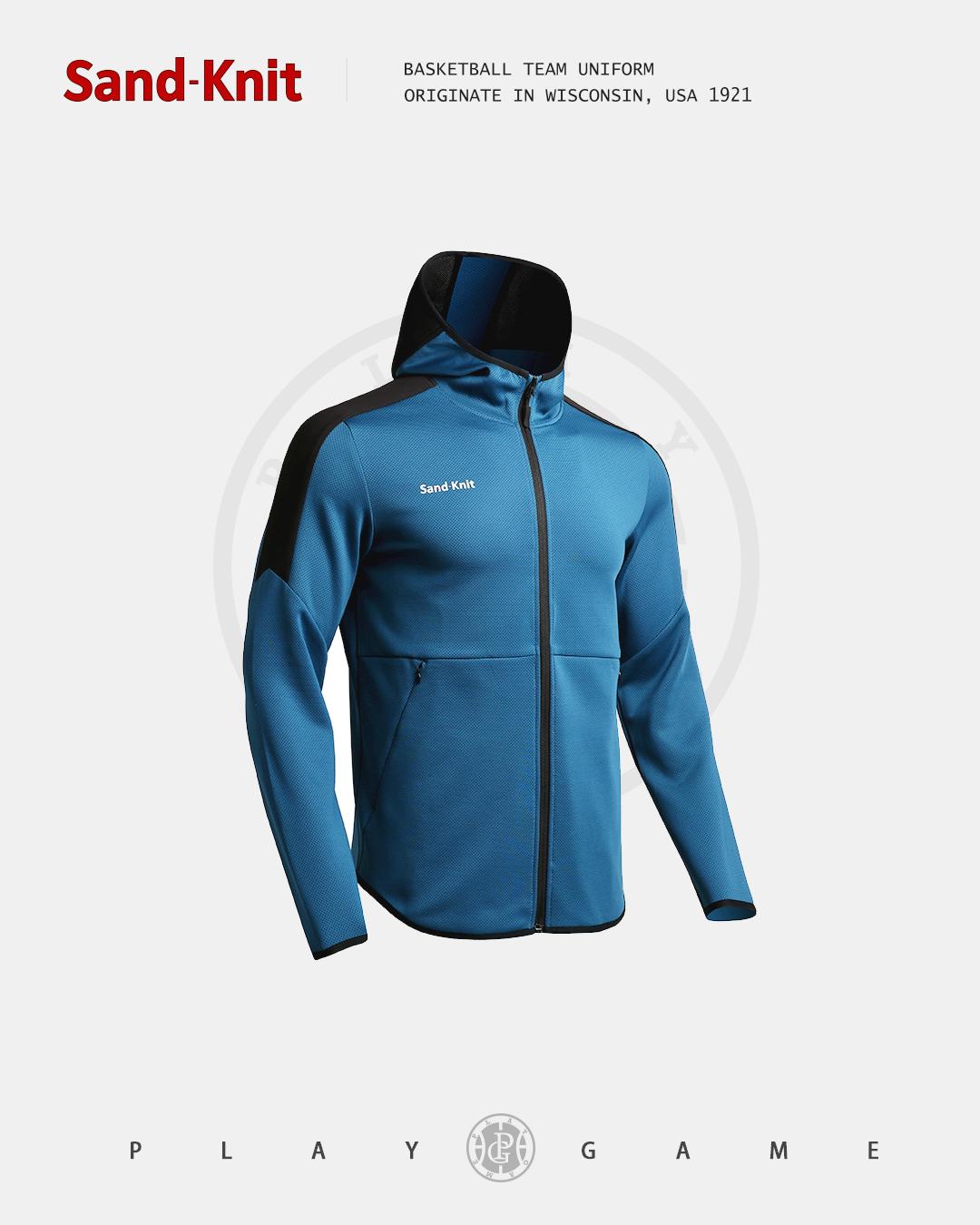 动力之窗运动装备森耐特个性时尚潮流男装卫衣连帽运动外套拉链帽衫户外跑步运动长袖上衣夹克