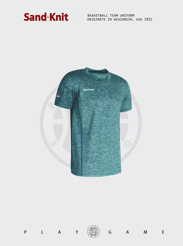 动力之窗体育新品男装森耐特2021夏季运动短袖T恤男健身速干透气跑步半袖上衣