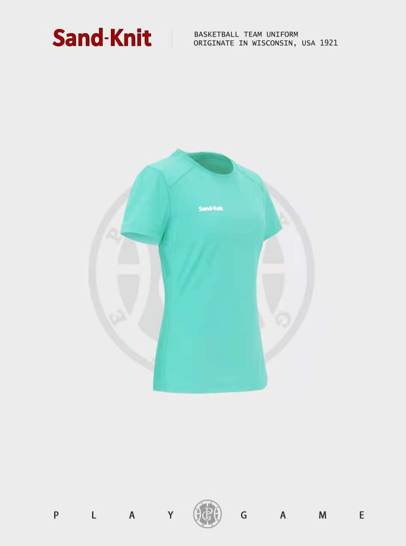 动力之窗体育森耐特夏季女士瑜伽训练上衣运动短袖透气速干休闲跑步健身半袖T恤