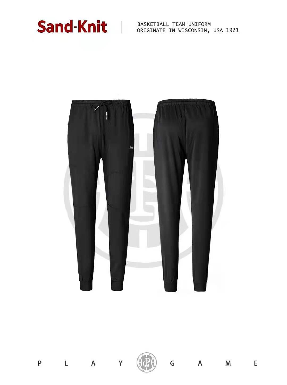 动力之窗体育新品森耐特跑步健身运动裤锥形收口男士休闲长裤透气舒适九分裤