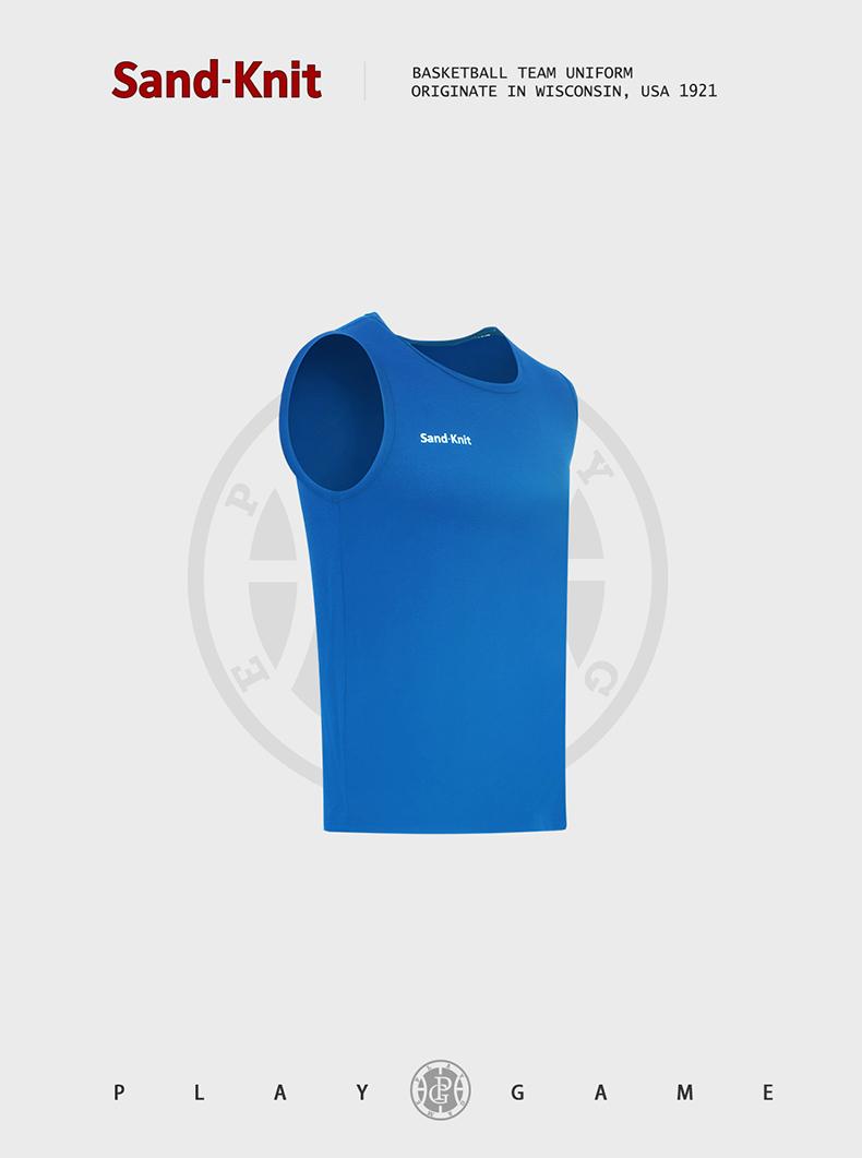动力之窗夏季森耐特速干男士跑步健身运动背心无袖篮球训练服上衣