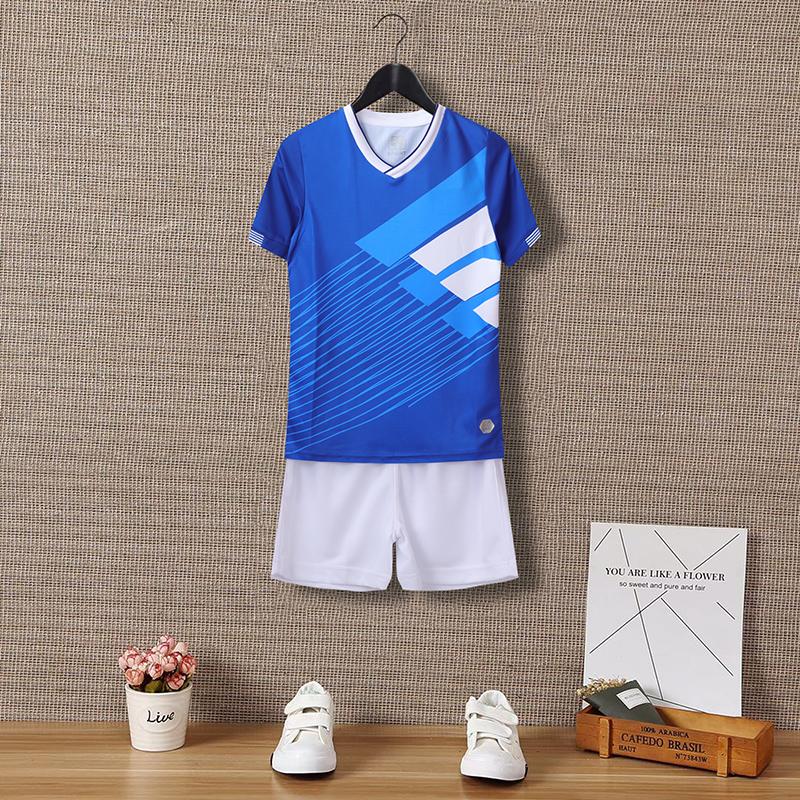 动力之窗体育2021新款儿童成人小学生足球服训练服个性定制队服印字订制透气速干球衣男